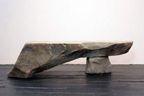 Superb Flintstones Furniture: 15 Designs Made Of Stone And Lava