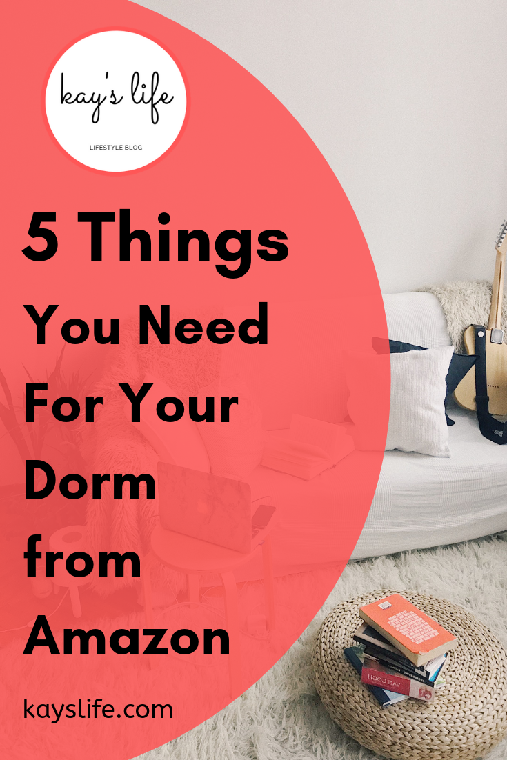 5 Things You Need For Your Dorm From Amazon   Items for Your Dorm images