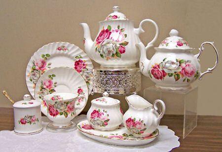 Summer Bloom Bone China Tea Set