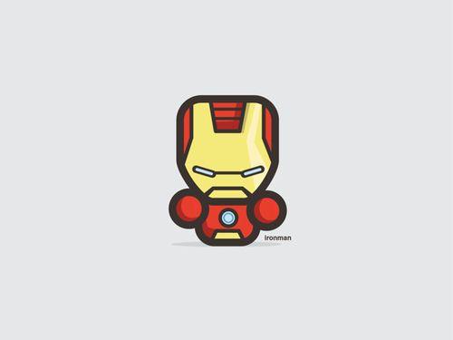 Chibi Tony Stark Aka Iron Man Cute Chibi Spiderman Cartoon Chibi Captain America Wallpaper