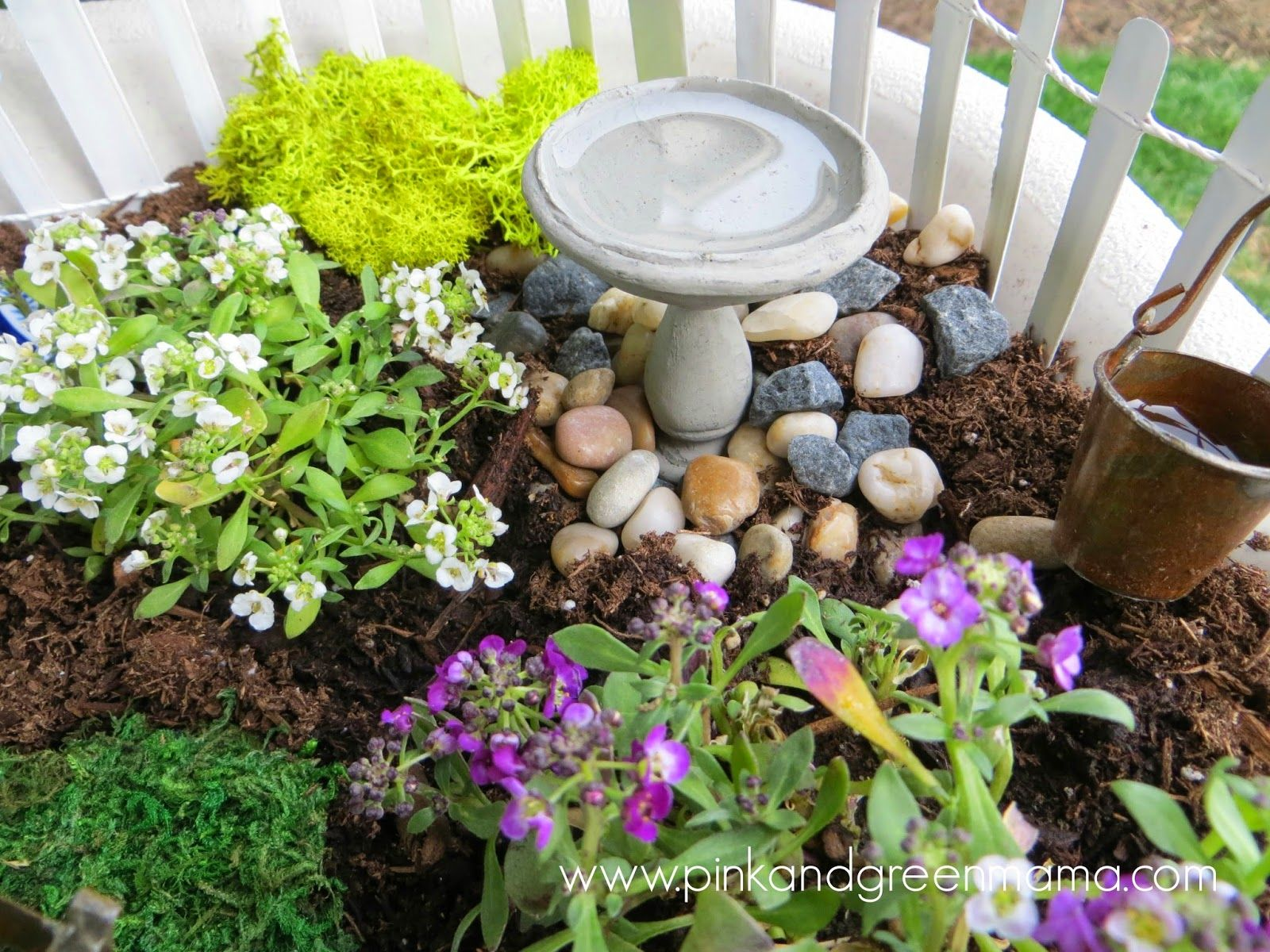 Pink and Green Mama: Simple Fairy Garden for Kids #playmatters ...