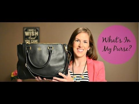 ▶ What's in my purse - YouTube