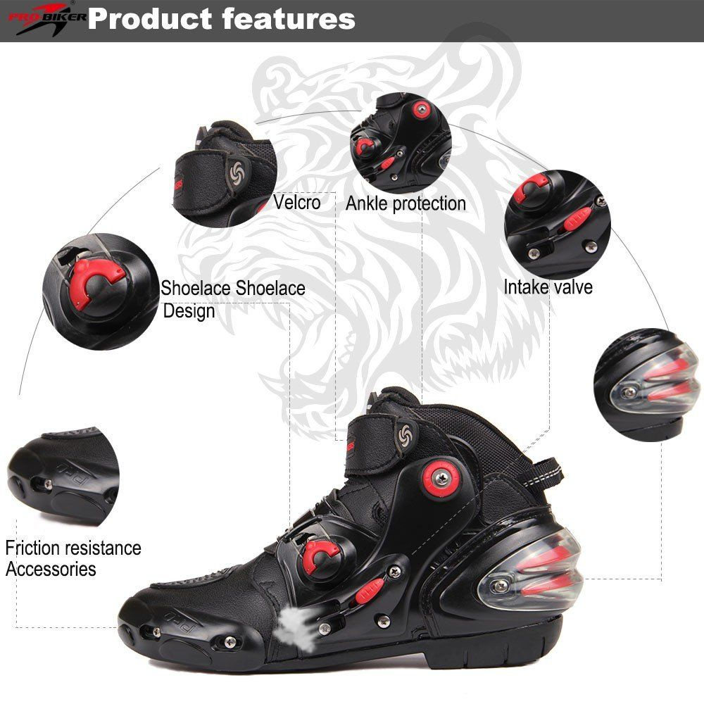 Motorcycle Racing Boots Breathable Boot Boots