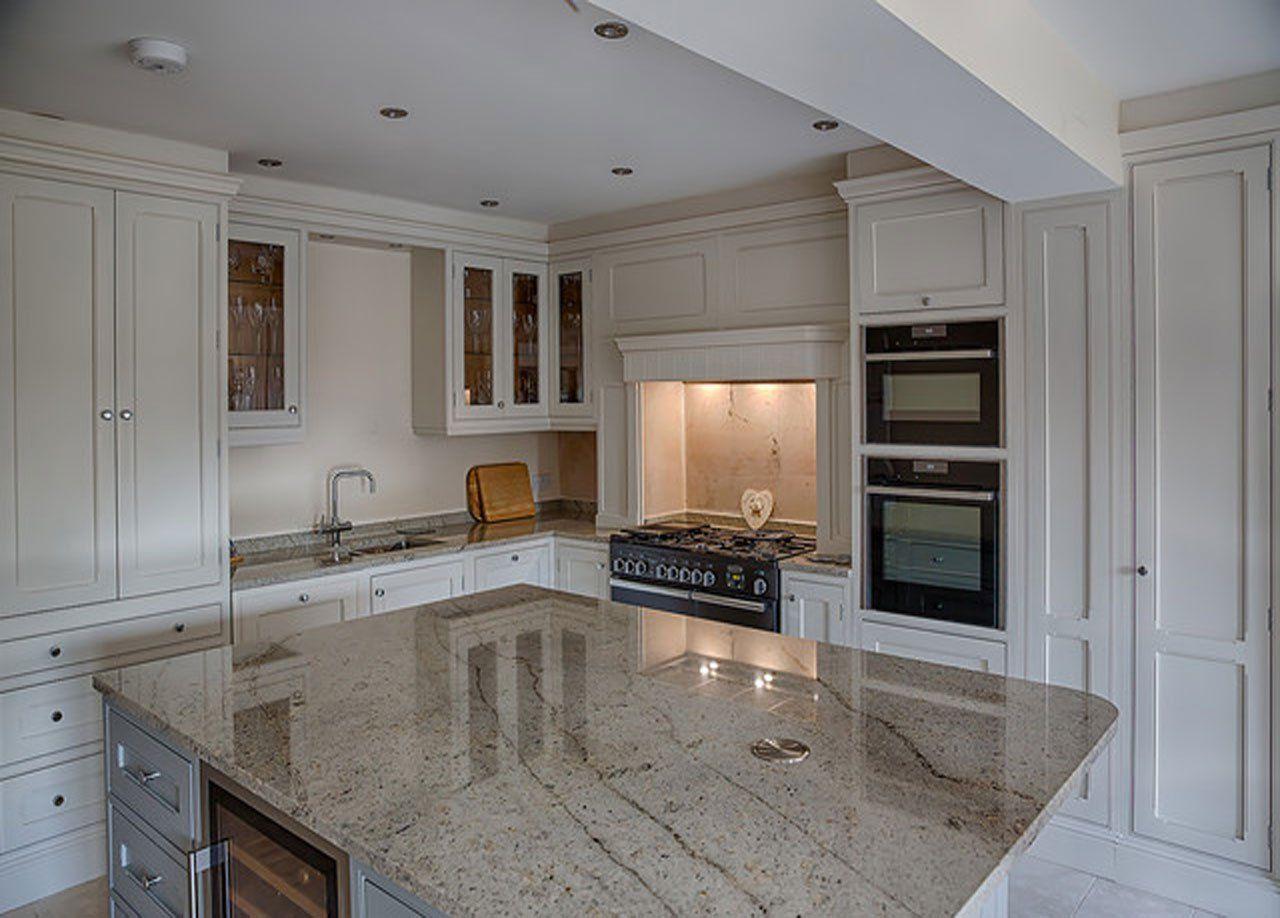 Image Of Ivory Spice Granite Worktops Handmade Kitchen Furniture Bespoke Kitchens