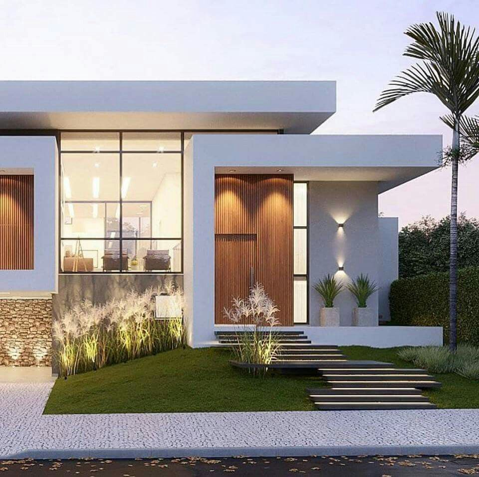 Modern But Still Warm And Inviting Facade House Modern