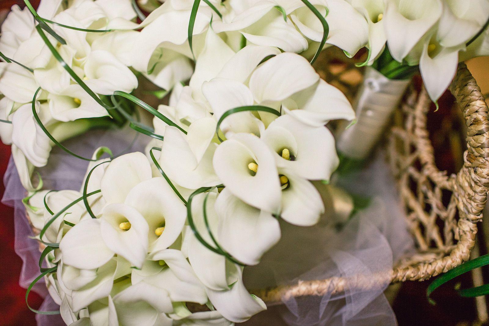Calla Lily bouquets for bridesmaids by Dezign Shop