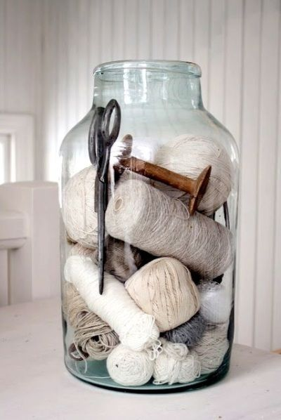 Sewing Kit in Jar is part of Jar -