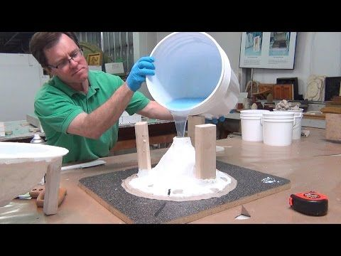Silicone Mold Making Tutorial: 73-20 poured blanket mold