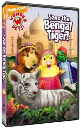 Wonder Pets Save The Bengal Tiger Dvd Wonder Pets Pet Tiger
