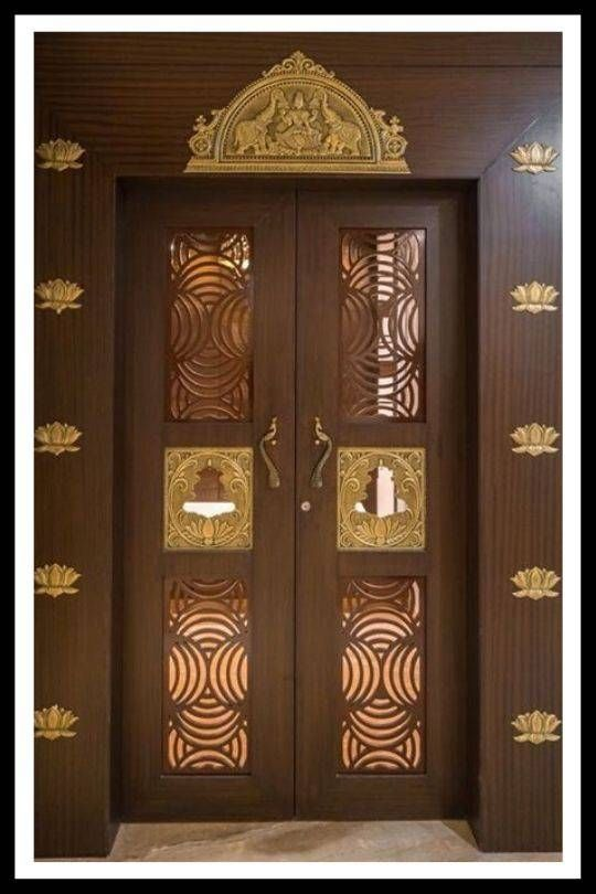 Front Double Door Designs For Indian Houses 7 Ideas That Stand Out Pooja Room Door Design Room Door Design Pooja Door Design