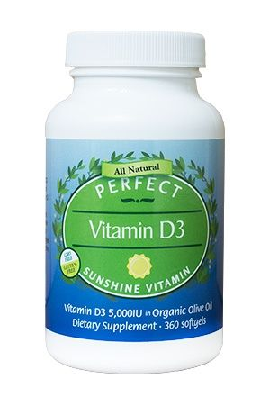 Perfect D3 Drops Citrus Flavored Vitamin D3 5 000iu 1 Fl Oz Vitamins Coconut Benefits All Natural Vitamins