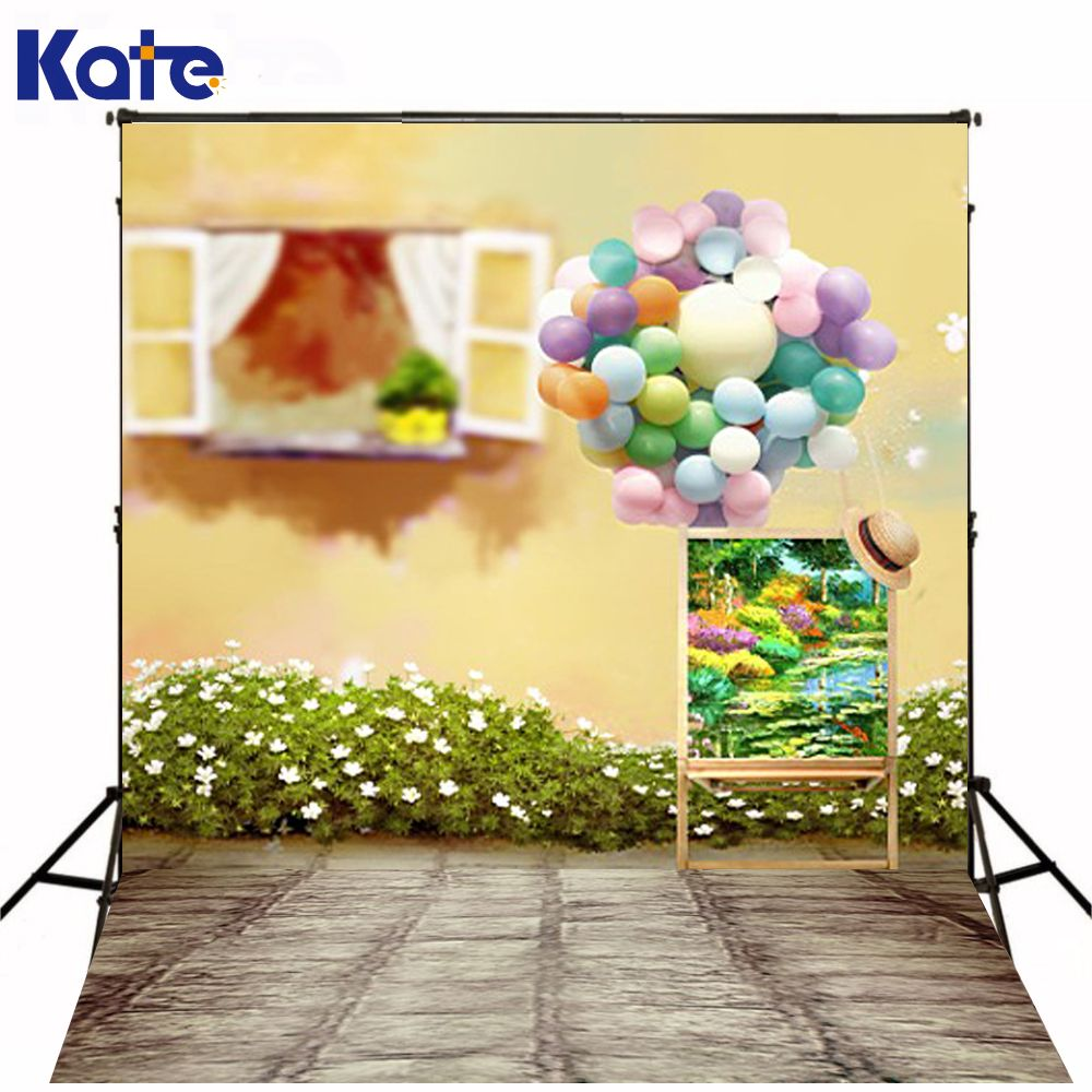 200cm150cm mini baby child photography balloon flower windows background one hundred days baby photos lk 3953 affiliate