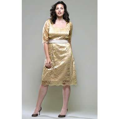 eee988269d cutethickgirls.com gold plus size dresses (04)  cuteplus