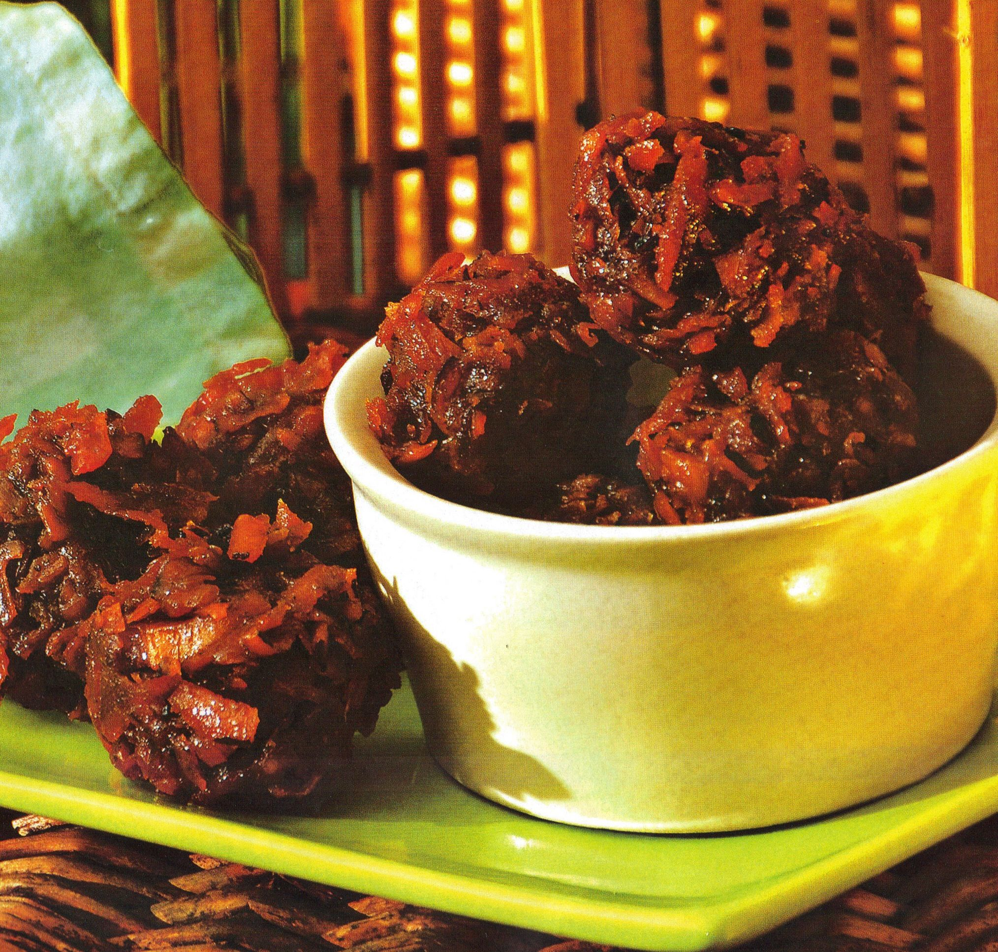 Cocada dulce de coco