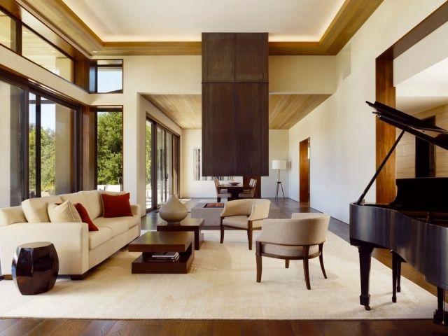 55 Ideen für indirekte Beleuchtung an Wand und Decke penthousse - indirekte beleuchtung wohnzimmer decke