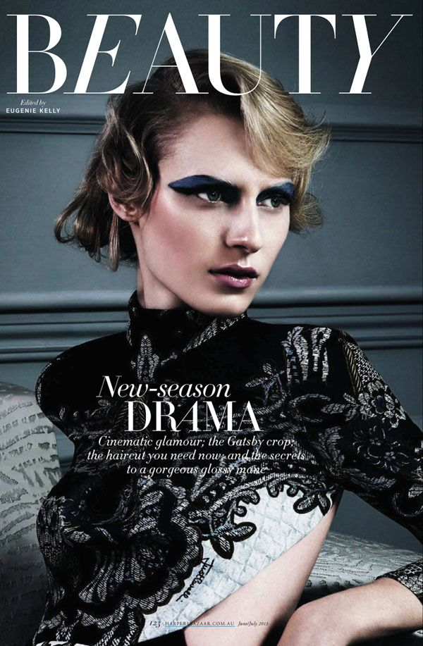 Julia Nobis Is Drama Queen By Todd Barry For Harper's