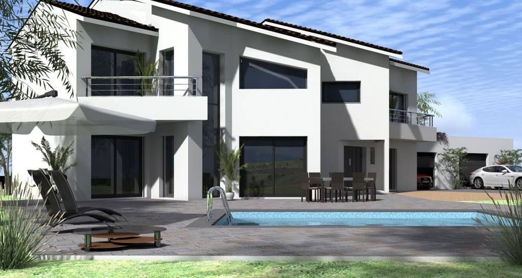 Découvrez les perspectives Maisons Vestale Votre maison en - exemple de facade de maison