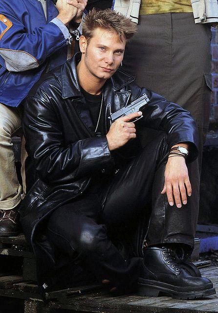 http://leathermotorcyclejackets.angelfire.com/  Fabian Harloff in black leather