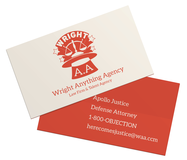 Ace Attorney Business Cards Part 1/? by Ingrid Yiu/Ingthing on ...