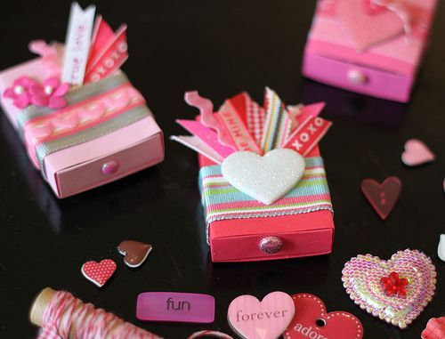 More matchbox Ideas for Valentine's Day: