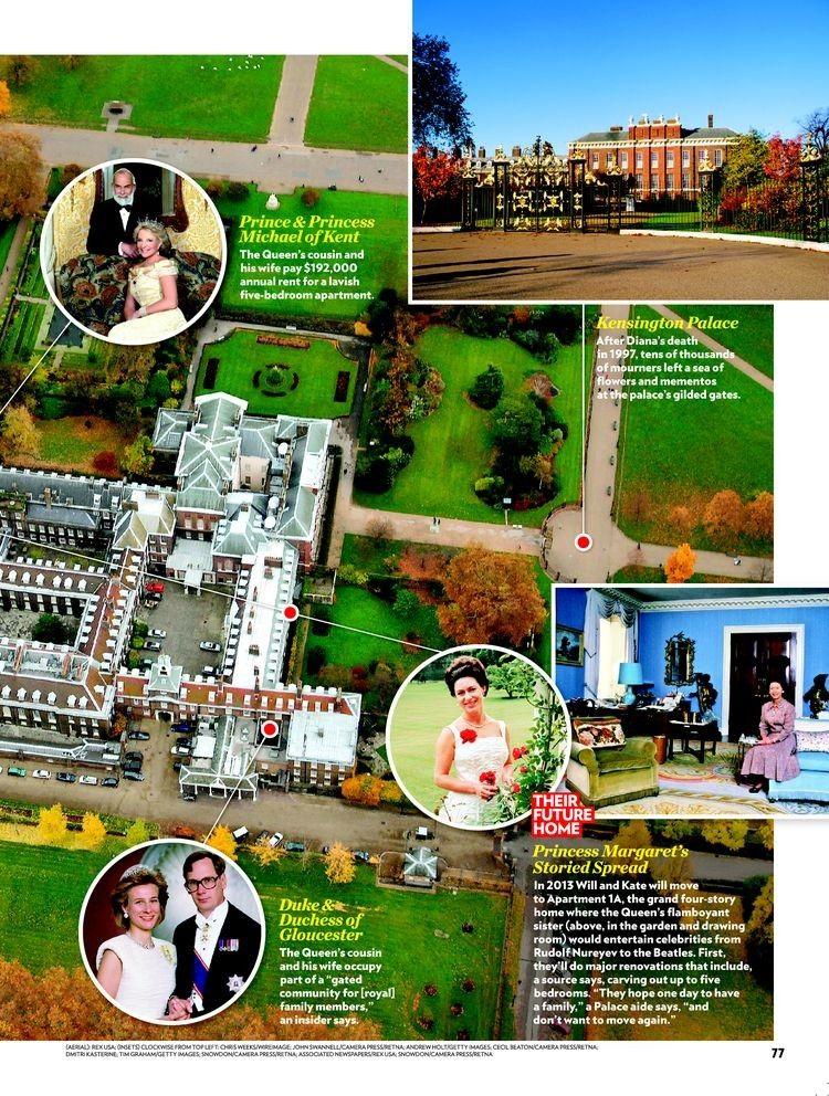 Nottingham Cottage At Kensington Palace Kensington