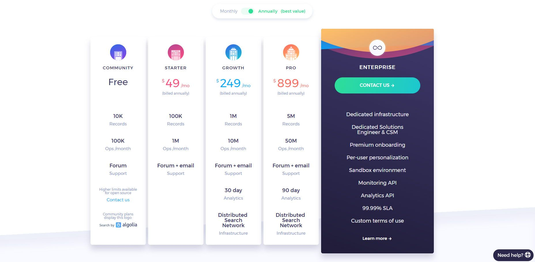 11 Pricing Table Designs That Really Sell Pricing table