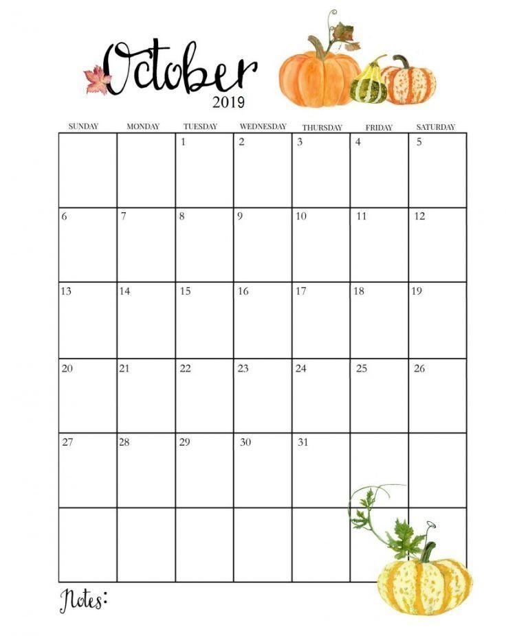 Cute 2019 Monthly Calendar Shablony Kalendarej Kalendar