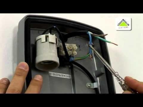 e0689156a47 Instalar apliques y plafones de exterior (Leroy Merlin) - YouTube ...