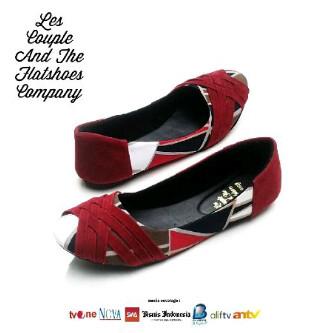 Jual Sepatu Batik Etnik Di Lapak Flatshoes Idea Sepatubatiketnik