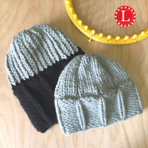 loom knit childs hat   Loom knitting patterns hat ...