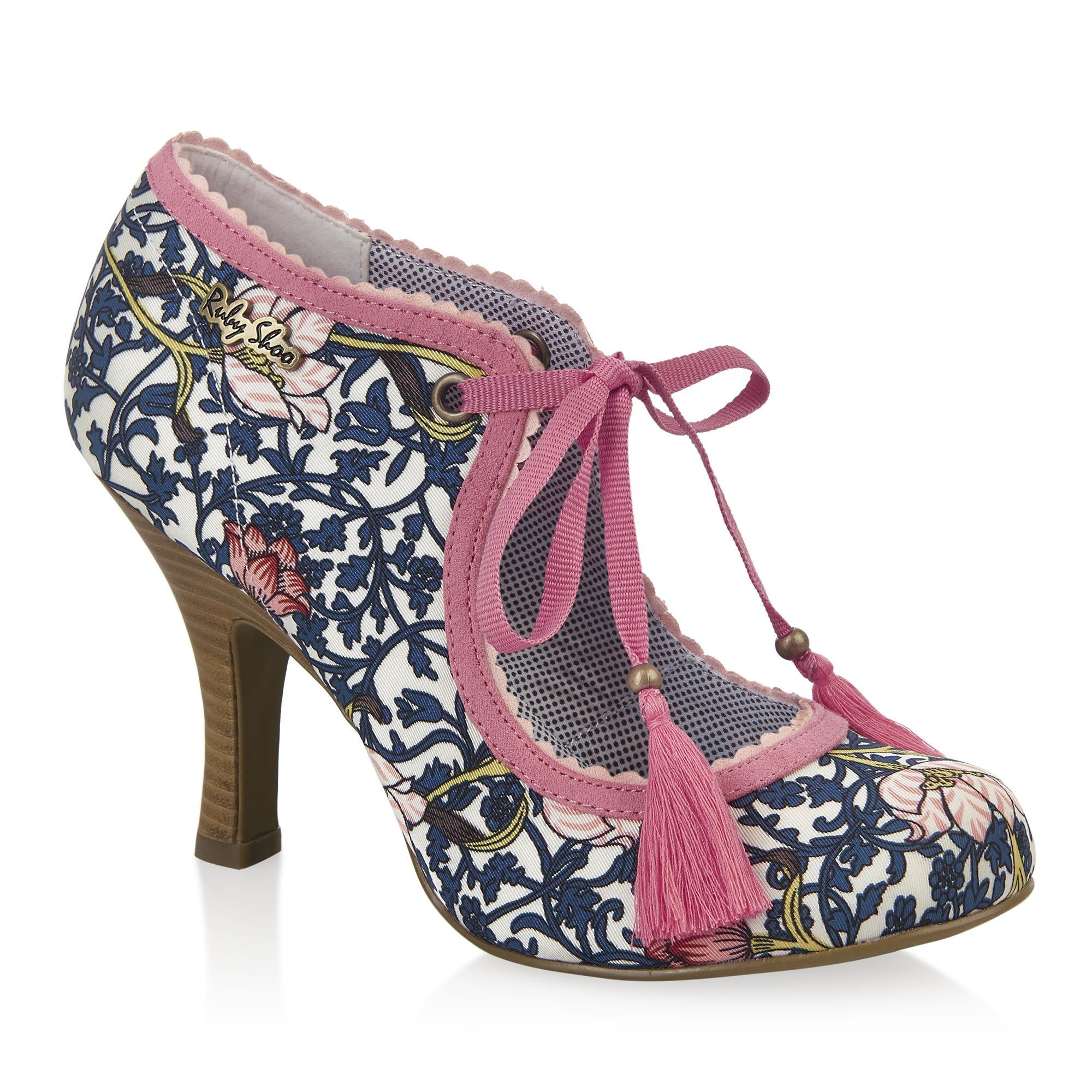 WILLOW (Navy/Coral) - Shoes - By Ruby Shoo