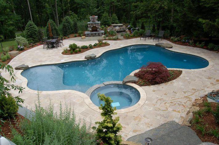 Pin By Dana Mccullough On Backyard Beautification Custom Pools