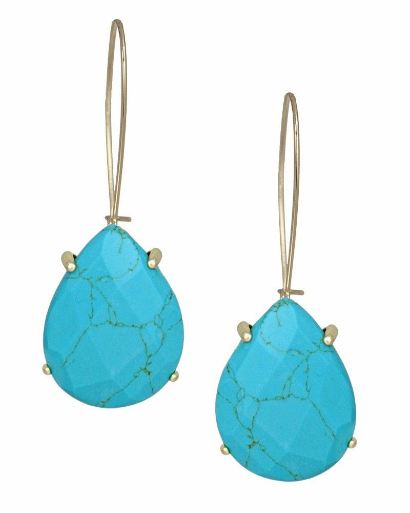 product earrings by gold silver turquoise teardrop original or marthajackson jackson martha