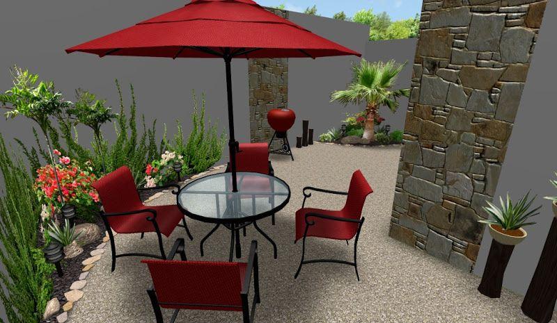 Dise o de jardines urbanos minimalistas con flores deco for Decoracion de patios y jardines pequenos