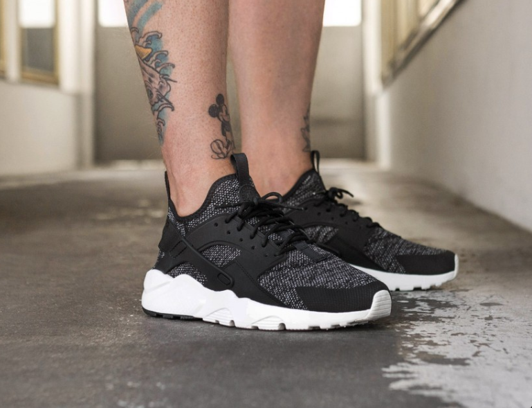 3a679b1f53 NIKE AIR HUARACHE RUN ULTRA BREATHE RUNNING BLACK 833147 003 | NIKE ...
