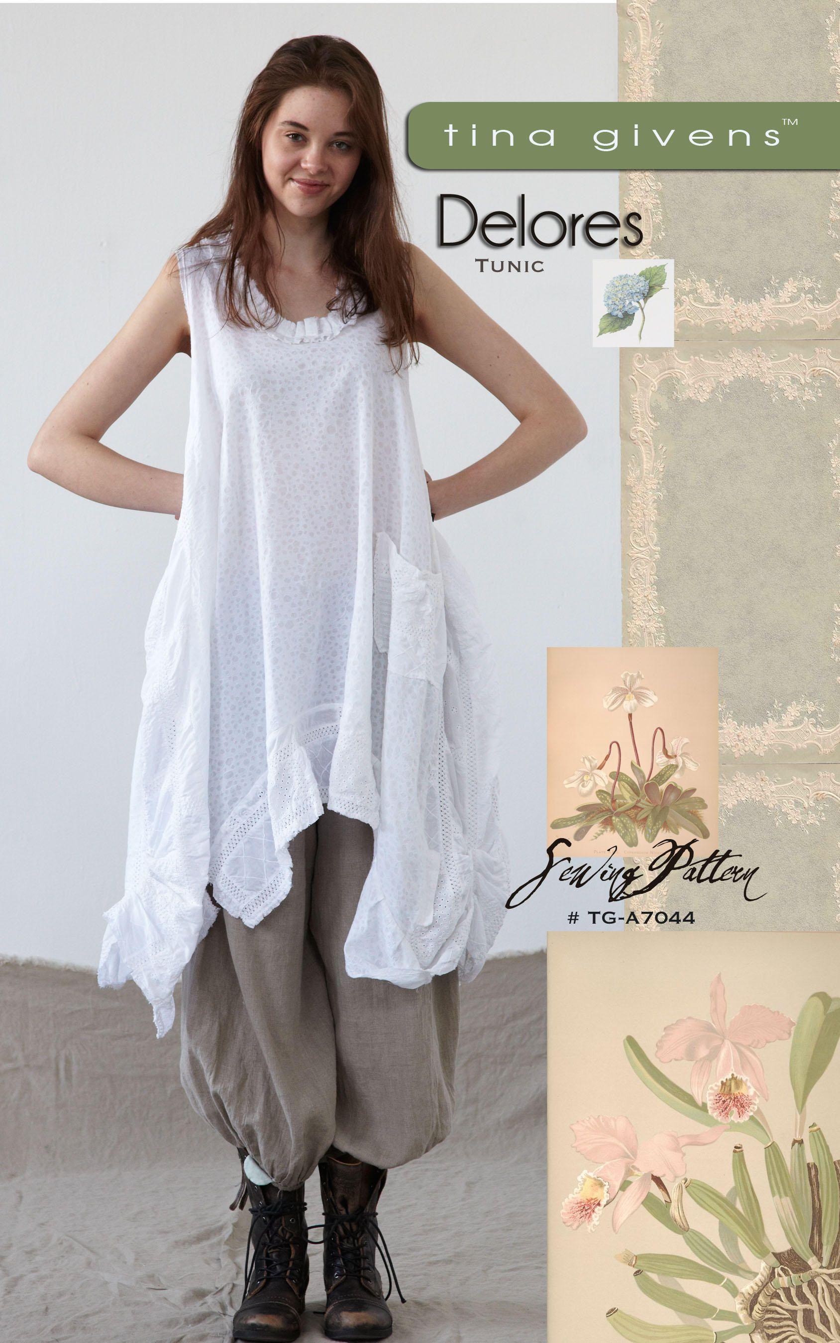 Tina Givens Printed patterns | Costura | Ropa, Costura y Moda