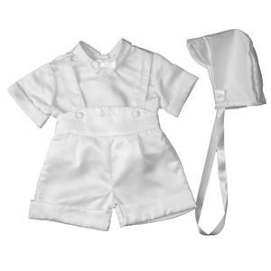 876d70993 Christening Day White Boys 3-Piece Christening Special Occasion Outfit -  Sears