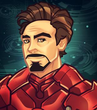 How To Draw Tony Stark Robert Downey Jr Iron Man 3 Robert Downey Jr Iron Man Iron Man 3 Robert Downey Jr