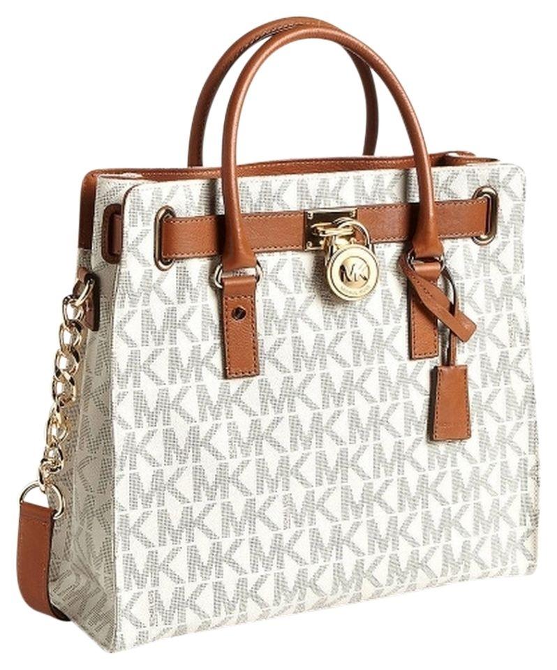 Michael Kors Vanilla Logo Tote Bag off retail