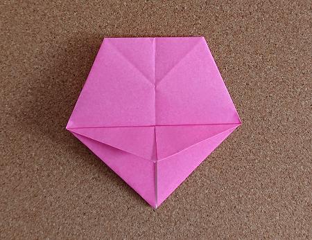 折り紙で器にもなる桜 さくら の立体的で簡単な折り方 作り方 折り紙の花 折り紙 花 折り紙 簡単 折り紙 花