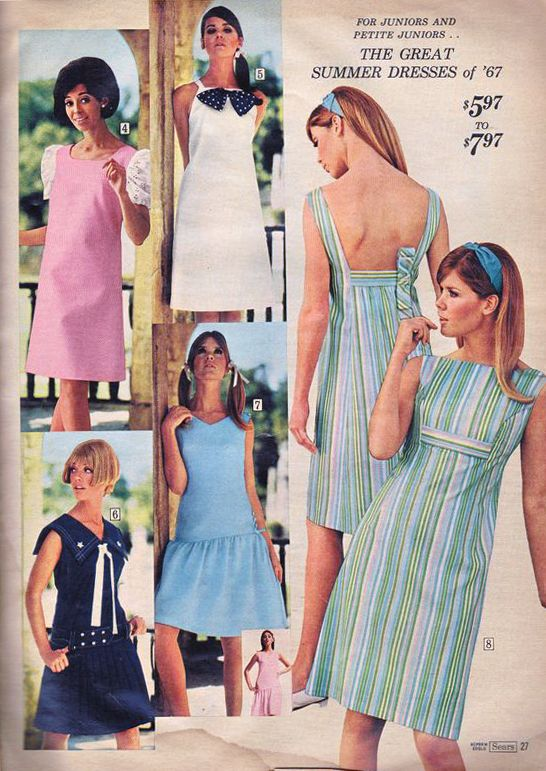1967 Sears Spring Summer Cay Sanderson Terry Reno Colleen Corby M