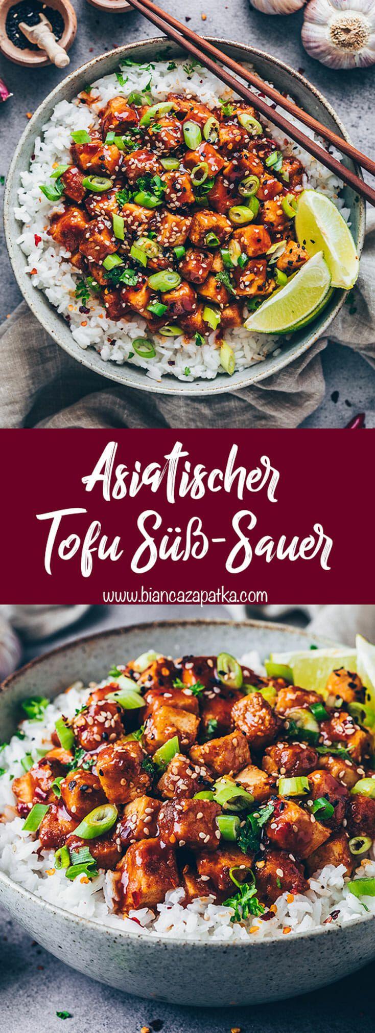 Marinierter Tofu mit Süß-Sauer-Soße - Bianca Zapatka | Rezepte