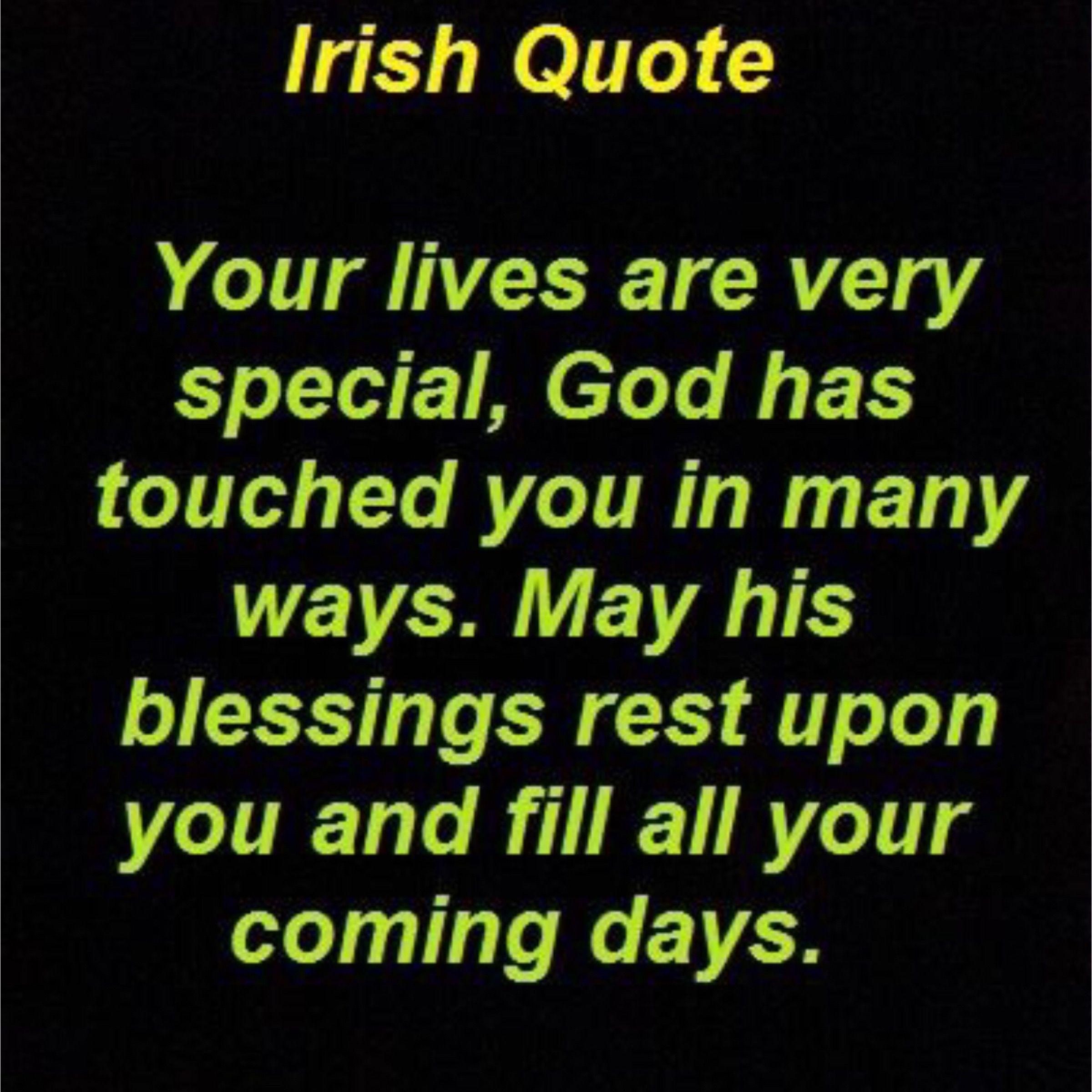 Irish ... ☘️