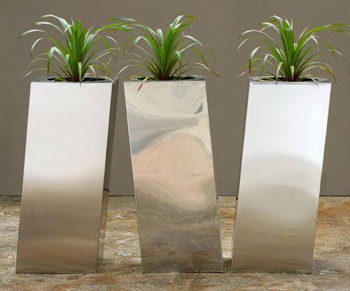 I Like These Flower Pots Outdoor Steel Flowers Planters