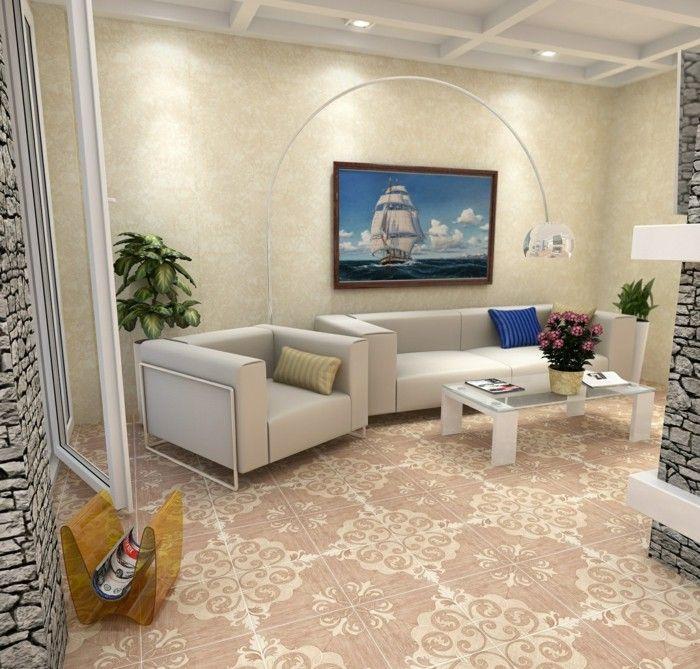 Living Room Tile Designs Floors: Design Floor Tiles For The Living Room