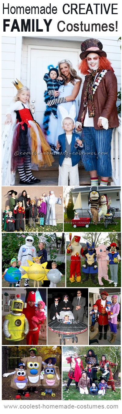 Top 10 do it yourself creative family costume ideas alice top 10 diy creative family costume ideas i have totally talked about doing an solutioingenieria Gallery