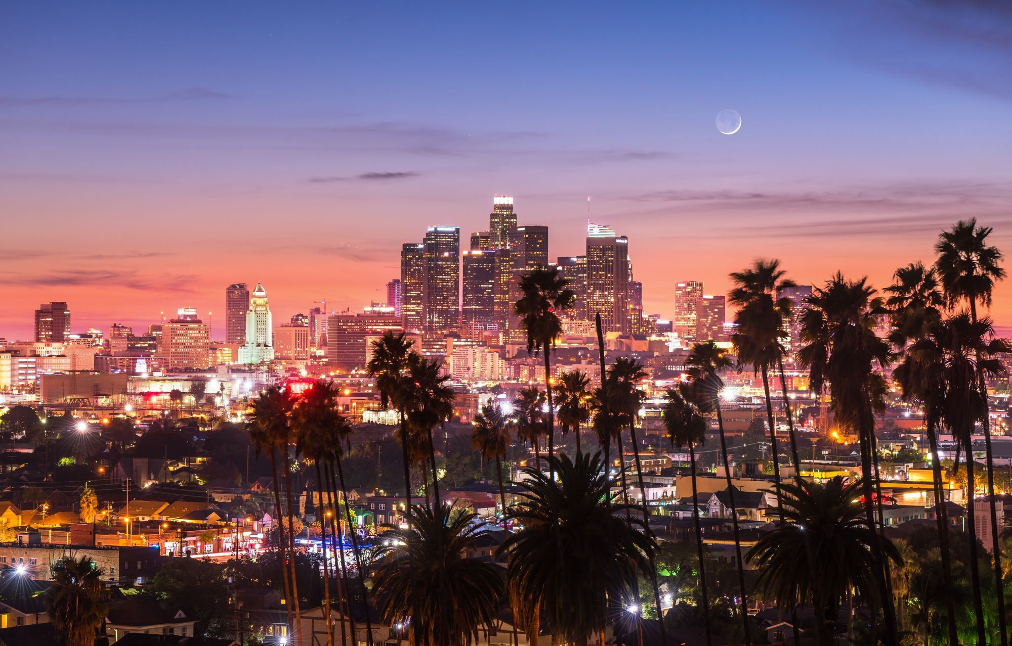 10 U S States With The Largest Populations Los Angeles Skyline Los Angeles Hotels Los Angeles