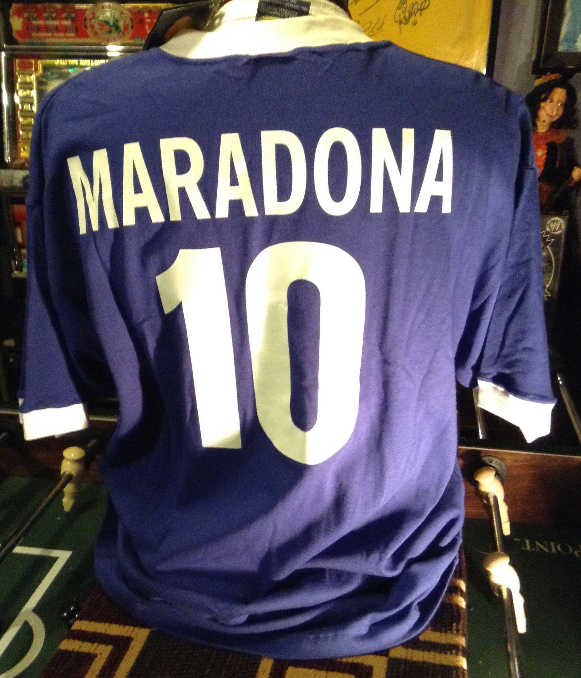 1f65c9e18 Maradona - Argentina Retro 1986