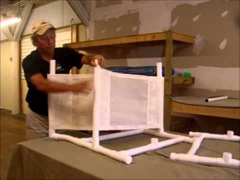 Perfect PVC Chair Assembly From PatioPVC (877) 246 3871