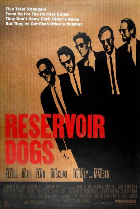 Reservoir dogs. I actually love this movie.